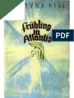 Kiss, Edmund - Fruehling in Atlantis (1933, 418 S., Text)