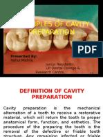 Cavity Prep Presentation 1