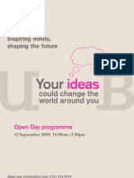 Ug Open Day Brochure