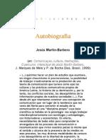 Autobiografía de Jesús Martín-Barbero
