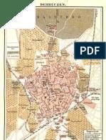 Térkép a régi Debrecenről