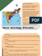 DELHI Byelaws
