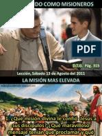 Lección 07 - Trabajando como misioneros