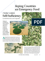 How Developing Countries Can Produce Emergency Food