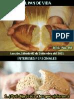 Lección 10 - El pan de vida