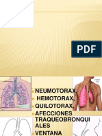 Patologias toracicas 2011