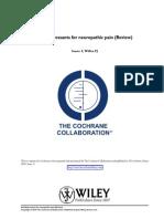 Antidepressants for Neuropathic Pain.
