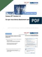Commencer Avec Caneco BT V5.3