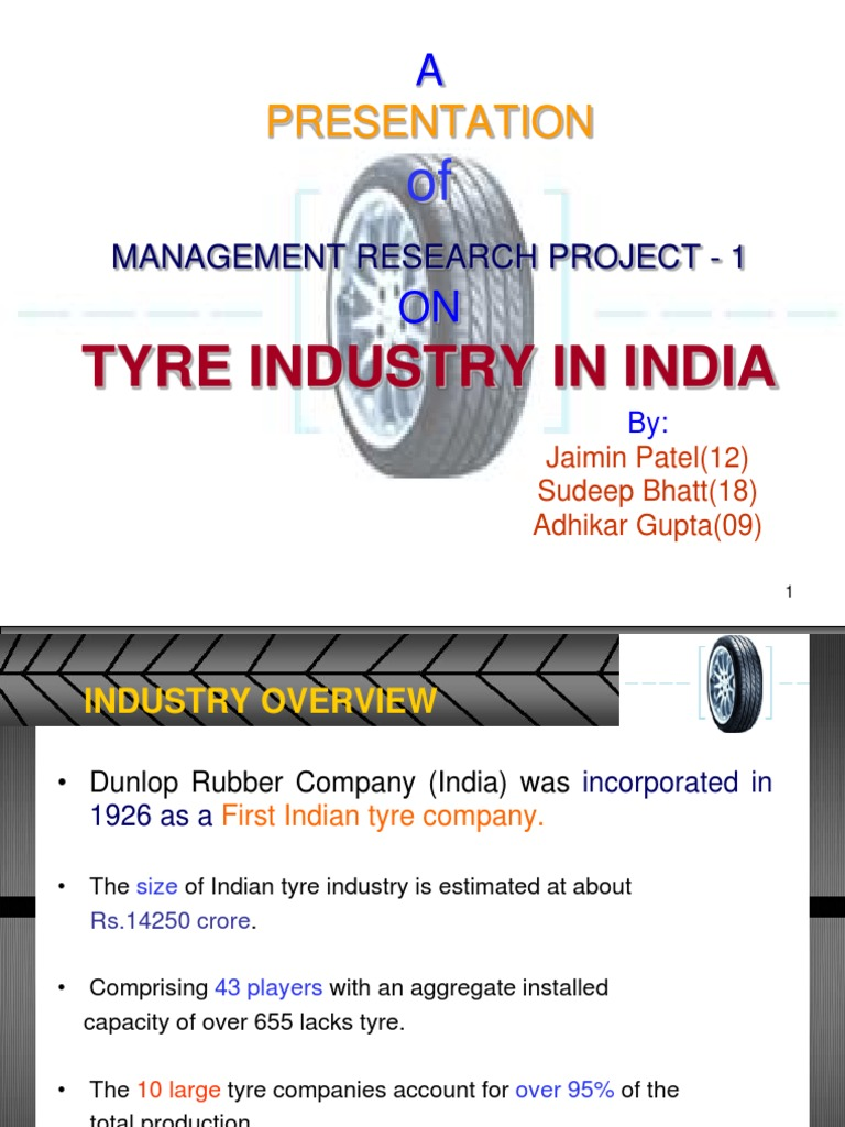 Tyre Industry | Tire | Economic Growth