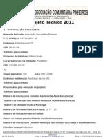 Projeto Técnico 2011
