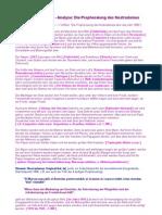 Analyse - Die Prophezeiung des Nostradamus über das Jahr 1886
