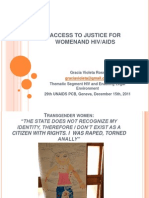 Access to Justice and HIV AIDS