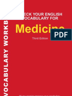 Check Your English Vocabulary for Medicine