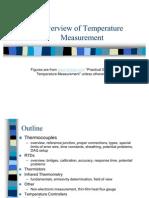 Overview of Temperature Measurement
