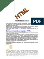 Introdução ao HTML e estrutura básica