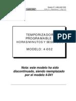 4-002-Temporizador Program Able Horas-minutos y Segundos