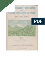 Reajustamiento Doctrinario Tomo I. David Ferriz Olivares