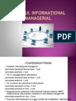 Sistemul Informational Managerial