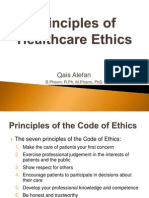 Principles of Healthcare Ethics
