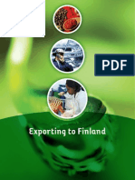Exporting to Finland