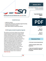 3CSN - Newsletter - Jan012