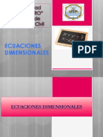 Ecuacion Dimensional