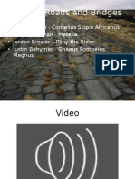 Roman Roads and Bridges Powerpoint