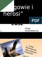 Kinga Boćkowska - Prometeusz