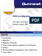 KvmForum2007$Kvm Live Migration Forum 2007