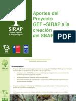 Gonzalo Pineda GEF Sirap Presentación