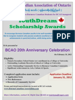Youth Dream Scholarship Poster3