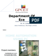 Home Automation Using Pc