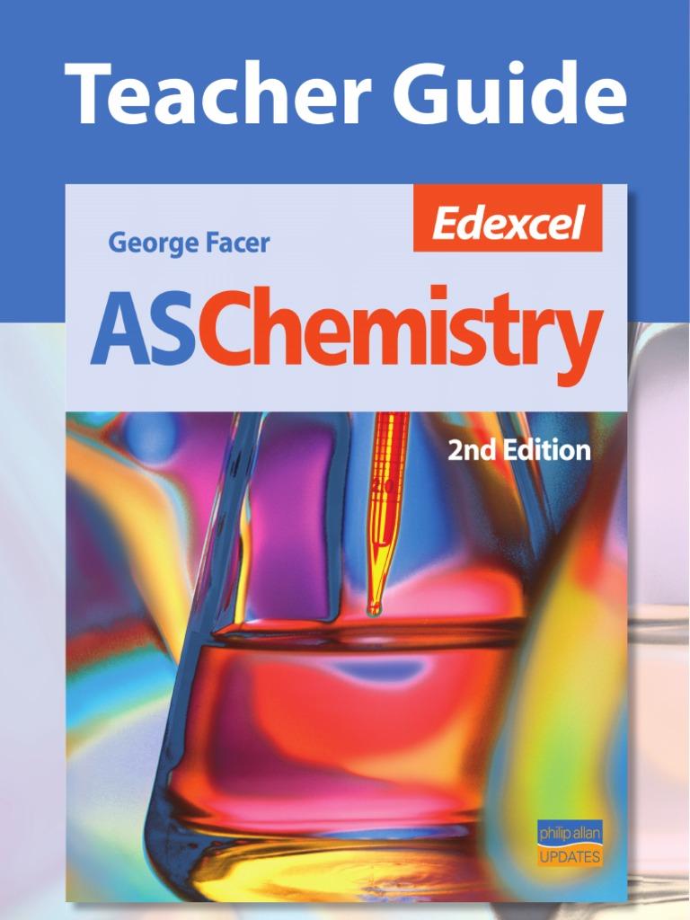 Edexcel As Chemistry Tag 2nd Ed Mole Unit Ion