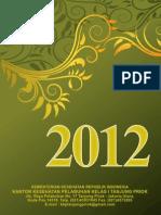 Kalender Kantor Kesehatan Pelabuhan Kelas 1 Tanjung priok Tahun 2012 (ukuran 46x62 cm)