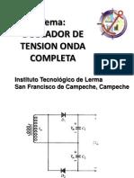 DOBLADOR DE TENSIÓN DE ONDA COMPLETA