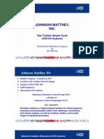 Bob McGinty - Johnson Matthey - Nov. 5 10 Am