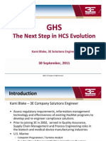 GHS The Next Step in HCS Evolution