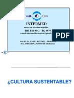 Intermed. Una cultura sustentable para una convivencia pacífica