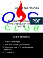 Vietnam Oil and Gas Reserves