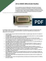 Control de LCD en BASIC