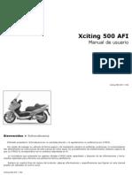 Manual Xciting 500