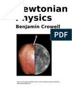 Newtonian Physics by B. Crowell