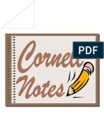 cornell notes student ppt ppt