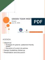 Green Team Meeting 2