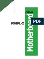 Manual Asus P5GPL-X