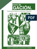 Cuadernos de negación, nº 05, 2011 - Contra la democracia, sus derechos y deberes