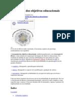 Taxonomia Dos Objetivos Educacionais