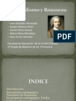 El pensamiento pedagógico de Rousseau