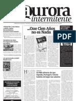La Aurora Intermitente, nº 01, febrero 2010