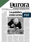 La Aurora Intermitente, nº 03, mayo 2010 - Especial Feria del Libro